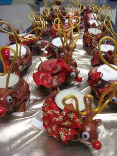 bougeoir renne au nez rouge - Noël - Galerie - Forums-enseignants-du-primaire