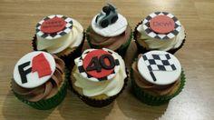 Formula 1 cupcakes