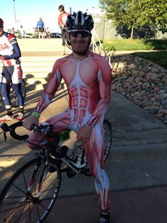 Cycle race, I love this guy's outfit!