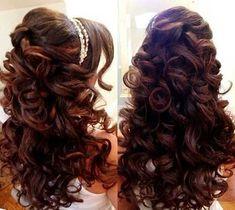 Wedding hair makejl