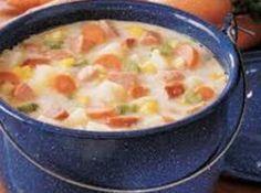 Pennsylvania Dutch Sausage and Potato Soup