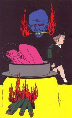 Surrealistic Horror by Toshio Saeki