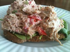 I have always loved a good tuna sandwich, but I have been avoiding since I have not been using mayo. I have found a good alternative and even better it's 21 Day Fix approved! Here is what you need:...