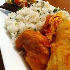 Slow Cooker Cilantro Lime Chicken Allrecipes.com