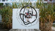 A clever, bizarre-looking drone that may one day save your butt has won a million bucks in the UAE's Drones for Good competition. Flyability's GimBall ha