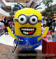 Balloon decorations for weddings, birthday parties, balloon sculptures in Kuching and Sibu, Sarawak: Balloon Sculptures