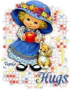 Birthday Wishes For Sister Awesome Glitter Graphics Ideas Hug Gif, Gif Animé, Animated Gif, Hugs And Kisses Quotes, Hug Quotes, Coffee Quotes, Hug Images, Sending You A Hug, Sweet Hug