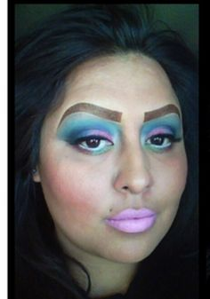 Worst Ever Makeup Disasters Ugly Makeup, Hair Makeup, Makeup Geek, Bad Makeup Fails, Beauty Trends, Beauty Hacks, No Way Girl, Eyebrow Trends, Cinderella Hair