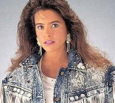 80's Fashion - Denim Jackets adorned with Everything-But-The-Kitchen-Sink! Hahaha