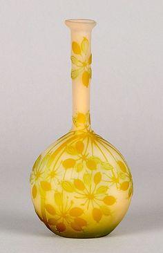 Emile Gallé Vase with Banjo Gooseberry c.1900 More At FOSTERGINGER @ Pinterest