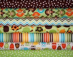 Boys Day at the Zoo Urban Zoologie and Remix by fabricshoppe, $35.00