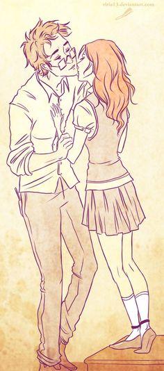 just a kiss by viria13.deviantart.com on @deviantART