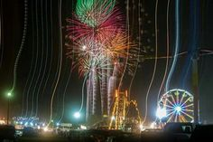 Fireworks at Twin Falls County Fair 2016 Shari Hart photo