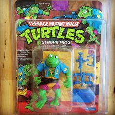 TMNT Genghis Frog 1989.