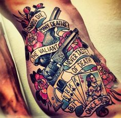 old style tattoo - B