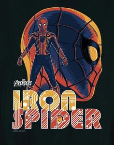 [#Cine] AVENGERS: INFINITY WAR Tenemos pósters para cada uno de los protagonista de la película #AvengersInfinityWar . #NeerksTV  #Avengers #IronSpider #Spiderman