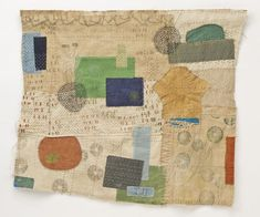 Jody Alexander - KEEP - Modern Library - en la pared Quilting Projects, Art Projects, Modern Library, Contemporary Embroidery, Textiles, Recycled Art, Textile Artists, Collage, Fabric Art