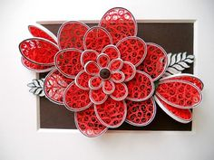 Quilling Tutorial Beehive Flower