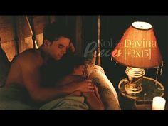 Kol & Davina | Pieces [3x15] - YouTube Kol E Davina, Davina Claire, Scene Couples, Couples In Love, Wattpad, Danielle Campbell The Originals, Romantic Kiss Gif, Fanfiction, Nathaniel Buzolic