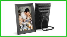 Best Digital Photo Frame on Amazon 2020 Review Best Digital Photo Frame, Gifts For New Parents, Works With Alexa, Product Review, Unique Photo, Are You Happy, Picture Frames, Polaroid Film, Photo And Video