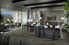 Lovely Living Room At Arista Plan 1 | New Homes In Santa Clarita In The Exclusive  Aliento