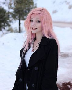 Scene Hair — djerq – Hair World Ideas Scene Girls, Cute Emo Girls, Long Wigs, Pretty Hairstyles, Scene Hairstyles, Lace Front Wigs, Pretty People, Dyed Hair, Hair Color