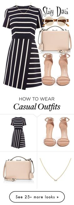 """""""Casual"""" by staydiva on Polyvore featuring Mark Cross, Stuart Weitzman and Le Specs"""