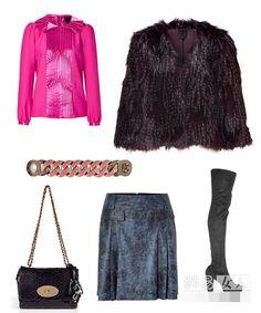Áo khoác lông thời trang