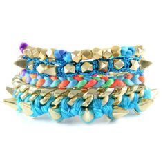 Electric Blue Stack