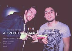 Interviewed these locos. #thekollection #adventureclubdubstep #music    http://thekollection.com/meet-the-artist-adventure-club/