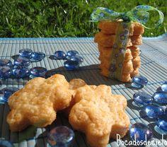 Galletas saladas hojaldradas de queso