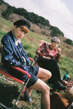 J- Hope and Suga #BTS #방탄소년단 ❤ Concept Photo 2 (night) #화양연화 HYYH Young forever