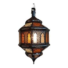 Amber Moroccan Lantern - Image 2 of 4 Moroccan Lanterns, Moroccan Decor, Moroccan Bedroom, Cottage Furniture, City Furniture, Furniture Online, Furniture Companies, White Flowering Trees, Lantern Image