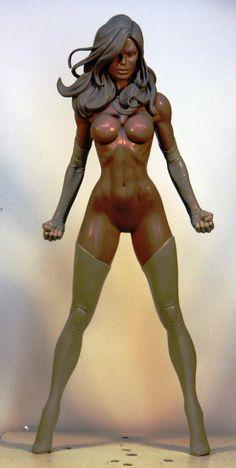 Ms Marvel 1 by TKMillerSculpt on deviantART
