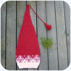 Ravelry: Langlue - nisselue/ Santa hat by MaBe