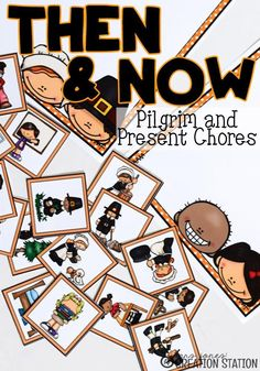 Chores…oh, how they have changed since the Pilgrims sailed on the Mayflower. Pilgrim children had responsibilities just like children do now. I wonder if pilgrim children complained about their chores like my kids do??Help your learners see how children live differently now than the Pilgrim children lived. Find out a little about Pilgrim Children's chores! #pilgrims #mayflower #pilgrimchores #choresforkids #Thanksgiving #fall #autumn #mrsjonescreationstation