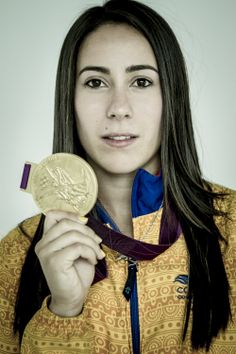 Mariana Pajon. Olympic Gold Medalist