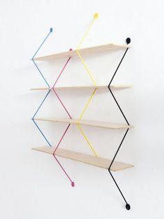 Modern Furniture: Serpent Shelves by Bashko Trybek
