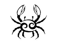 Find and save ideas about Cancer crab zodiac tattoo design on Tattoos Book. More than FREE TATTOOS Cancer Sign Tattoos, Cancer Crab Tattoo, Horoscope Tattoos, Zodiac Sign Tattoos, Cancer Horoscope, Zodiac Signs, Zodiac Cancer, Lung Cancer, 12 Zodiac
