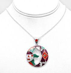 Peruvian Gemstone Pendant