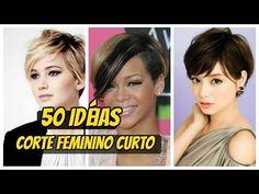 Veja os 10 cortes de cabelos curtos mais desejados pelas mulheres - YouTube
