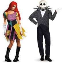 Sally and Jack Skellington Costume