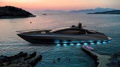 officina armare gransport yacht inspired by hypercars Carbon Fiber Spoiler, Sport Yacht, Underwater City, Transportation Industry, Navigation Lights, Guest Cabin, Below Deck, Yacht Interior, Yacht Design