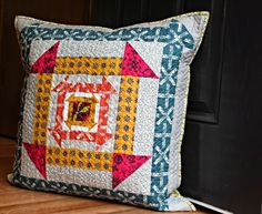 A Quilter's Table: Nested Churn Dash; block pattern by quilt jane #nestedchurchdash