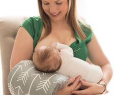 Nursie Breastfeeding Support Pillow/ PATENT PENDING/ Arm