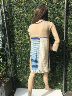 Tricot D'art, Crochet, Creations, Sweaters, Dresses, Fashion, Lace, Vestidos, Moda