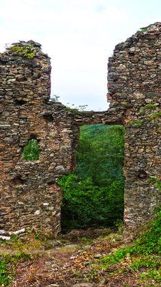 Ruine, Hintegrundbild für Huawei P9, 1080x1920 px