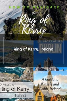 Killarney, Ireland: How to navigate the must-drive Ring of Kerry with a family Ireland, Ring, Rings, Irish, Jewelry Rings