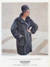 Hermès (Couture) 1964 Fur Coat