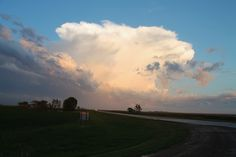 Approaching June 20th storm west of Rouleau Sask